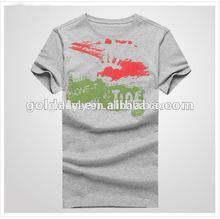 wholesale t shirt in bulk plain,t shirt wholesale cheap,grey melange t shirt