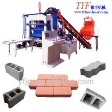 QTY4-20 Automatic Concrete Interlocking Brick Machine price