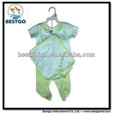 Bestgo 100% de algodón de ropa infantil conjunto