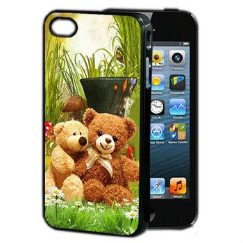 Cute 3D print custom case for iphone 4
