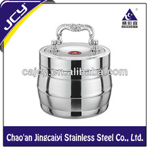 1.4/1.8/2.2L Stainless Steel Tableware Tiffin Box