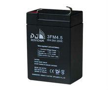 6v 4.5ah AGM lead acid battery for emergency light