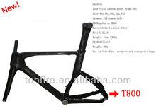 2013 new design and hot selling Torayca T800, EN standard carbon fiber frame set for Time Trial FM-R845