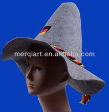 Hot sell bavarian felt hat oktoberfest felt hat