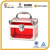 transparent makeup case, acrylic makeup case, aluminum makeup case