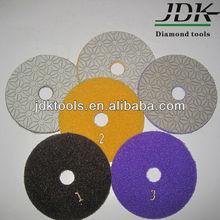 Newly Developed Fine Wet Polishing pads 3 step