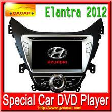 Car original GPS DVD For Hyundai Elantra with bluetooth, USB, SD and gift of 1 original camera for Hyundai Elantra 2012