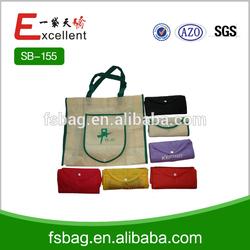 wholesale nylon polyester foldable shopping bag