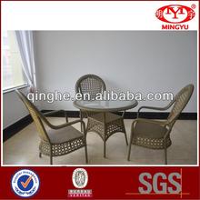 garden 3 seat lounge set patio 4pcs rattan coffee table set putdoor wicker coffee table set