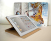 Leather 3D or flashing design for ipad cover, for ipad 3 case