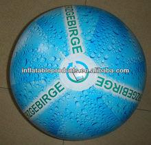 Neon PVC beach ball