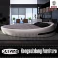 cy004 moderno diseño agradable cama redonda