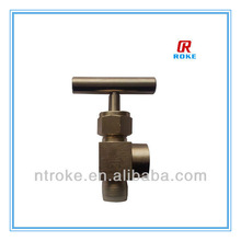 Hot Stainless Steel 1/2 NPT Right Angle Valve with T Handle