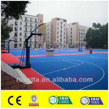 plastic sports flooring for hockey/futsal/basketball/gym
