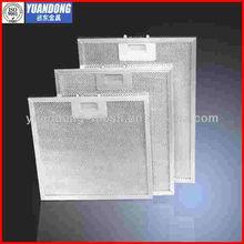 kitchen cooker exhaust range hood grease filter/aluminum mesh grease filter