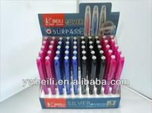 2013 Hot-Sale Heat-Sensitive Erasable Gel Pen For Textile Industry Or Office Use,Plastic Gel Ink Pen With Eraser ,Erasable Pen