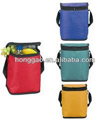 simple and decent design 6 bottles cooler bag made in xiamen