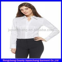 2014 popular slim fit long sleeve woman uniform t-shirts