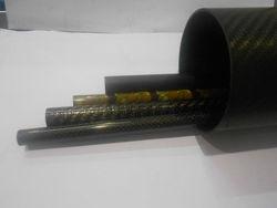 Carbon fiber 3K reel tube