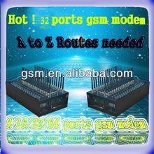 New 32 GSM modem pool for bulk sms/mms sending tc35 gsm modem