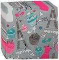 لتصاميم الديكور كعكة عيد ميلاد المطبوعة منديل ورقي guardanapo الفقرة decoupage