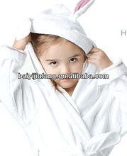 Toddler /Kids cute animal Hood bathrobe