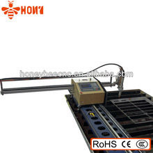 French language interface high quality cnc portable plasma cut machine with CE certification,150mm cutting thickness MAX
