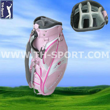 2013 Pink Golf Cart Bag For Lady
