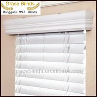 "Water proof 50mm Fauxwood slats Horizontal blinds 2"" Faux wood Blind"