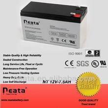 NEATA maintenance free rechargeable inverter battery 12v 7.5ah
