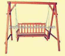 Escape the day's stress Rustic garden swing / garden swing chair / balancelle