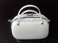 travel accessory cosmetic case makeup kit for girls fashion clear plastic handbags