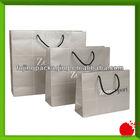 Custom brand paper packaging shopping bags