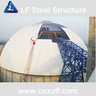 metal structure cement storage bunker