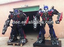 fashion Iron Art Metal crafts Transformers sculpture