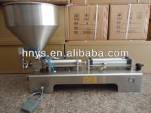 pneumatic liquid piston filler for juice