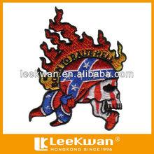 Custom Skull Embroidered Emblems