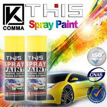 450ml Wholesale MSDS Car Acrylic Aerosol Spray Paint