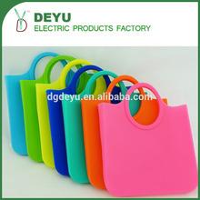 CHEAP PRICES ECO Friendly OEM Design Ladies Silicone Bag