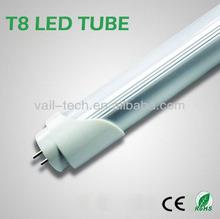 Super bright 10w plastic T8 LED Tube Light LED Tubes 600mm CE RoHS