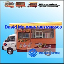 Electric mobile food /catering/ice cream vending truck