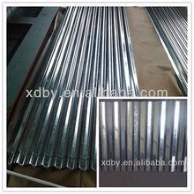 Zinc/Galvanized Corrugated Steel Sheet