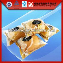 HOT! High quality custom printed aseptic clear plastic bread bags