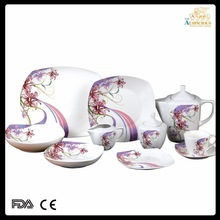47pcs new bone china dinnerware