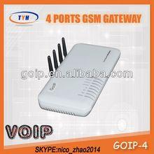 TYH 4 Port Gsm VoIP Gateway,GoIP Gsm Gateway VoIP Gsm 4 Channel Gateway Free Tech Support