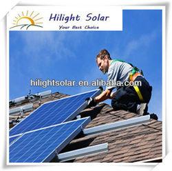 Top efficiency mono 210w china solar panels cost