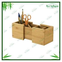 Extendable bamboo office organization
