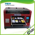 ขนาดa3แปดสีที่มีและความละเอียดสูงขนาดเล็กพลาสติกเครื่องจักรการพิมพ์