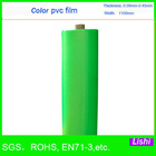 1858 chinese blue film soft pvc plastic sheet in roll