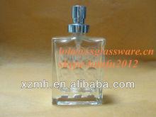 35ml glass perfume bottle with aluminum sprayer